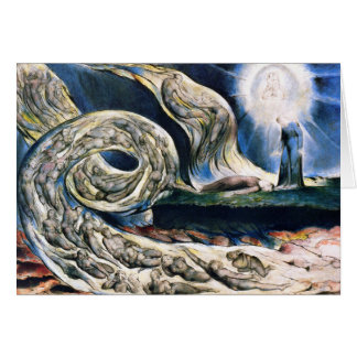 """Card/ Invitation: """"Whirlwind of Lovers by W. Blake Card"""