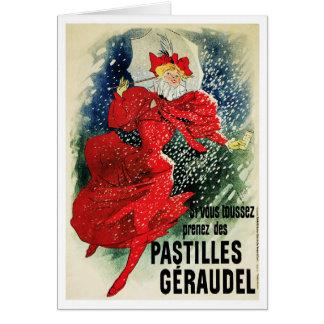 Card: Jules Cheret - Pastilles Geraudel Card