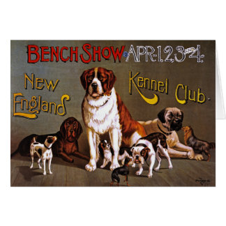 Card or Invitiation: Dog Show, circa 1890