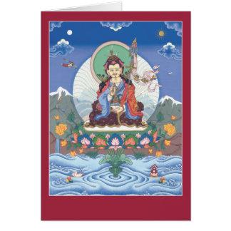CARD Padmasambhava / Guru Rinpoche - with mantra