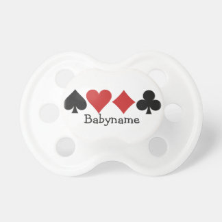 Card Player custom pacifier