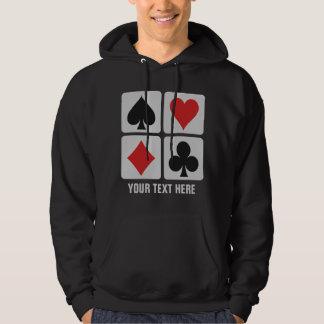Card Player custom shirts & jackets
