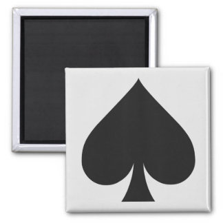 Card Player magnets - Spade