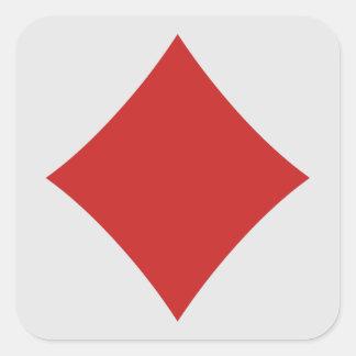 Card Player stickers - Diamond