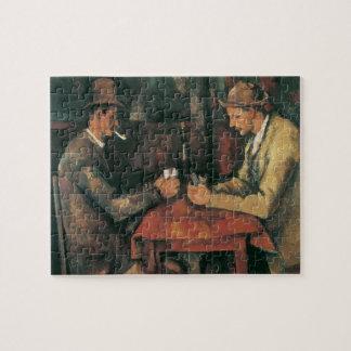 Card Players by Paul Cezanne, Vintage Fine Art Jigsaw Puzzle