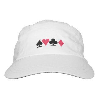 Card Player's White Cap