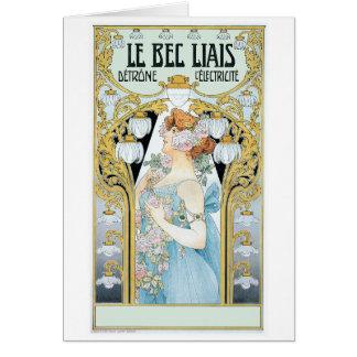 Card: Privat-Livemont - Le bec Liais Card