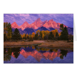 Card Series - Grand Teton NP