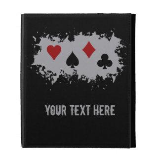 Card Splash custom iPad folio iPad Folio Case