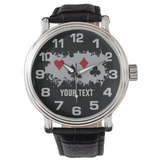 Card Splash custom watches