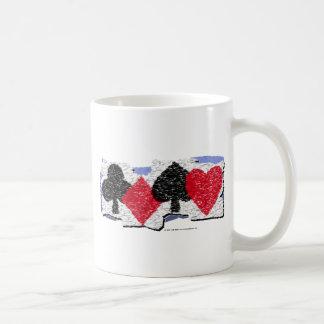 Card Suits Banner Coffee Mug