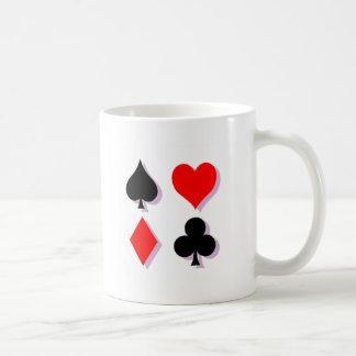 Card Suits Coffee Mug