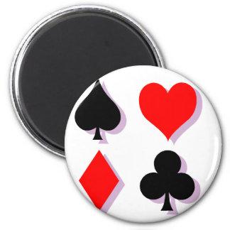 Card Suits Fridge Magnets
