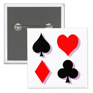 Card Suits Pin