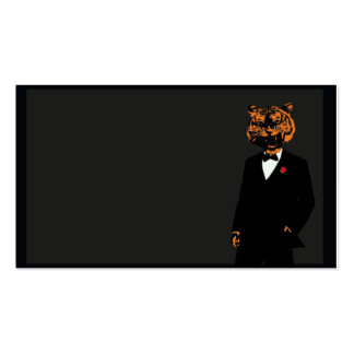 Card Tiger Pack Of Standard Business Cards