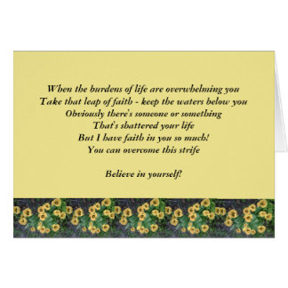 Card to Encourage