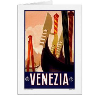 Card-Vintage Venezia, Italy, Card