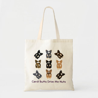 Cardi Butts Drive Me Nuts Budget Tote Bag