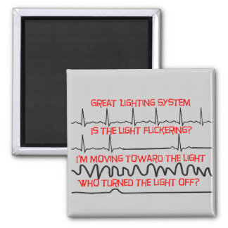 Cardiac Lighting System --Cardiac Nurse Gifts Magnet