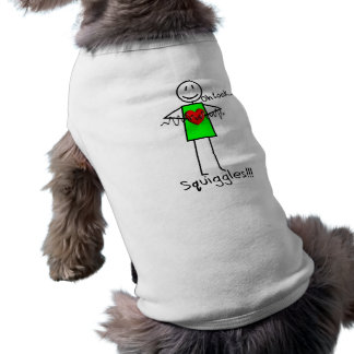 Cardiac Nurse Gifts Stick Person Design V-Fib Doggie T-shirt