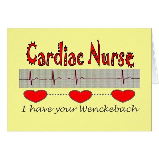 Cardiac Nurse T-shirts and Gifts Card