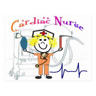 Cardiac Nurse  Unique and Adorable Gifts Postcard