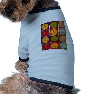 Cardiac QRS Pop Art Pet Tee Shirt