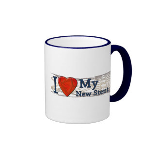 Cardiac Recovery Gifts | Stent T-shirts Ringer Coffee Mug