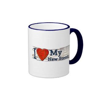 Cardiac Recovery Gifts | Stent T-shirts Ringer Mug
