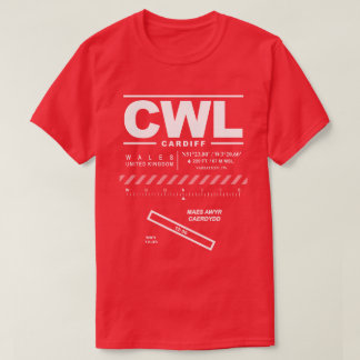 Cardiff Airport CWL T-Shirt