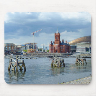 Cardiff Bay, Cardiff, Wales Mouse Pad