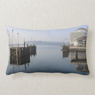 Cardiff Bay Reflections Lumbar Pillow