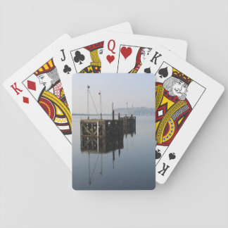 Cardiff Bay Reflections Playing Cards