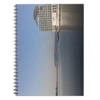 Cardiff Bay (Summer) Spiral Notebook