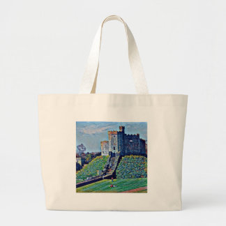 Cardiff Castle Large Tote Bag