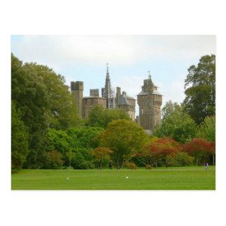 Cardiff Castle Postcard
