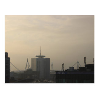 Cardiff City Skyline Postcard