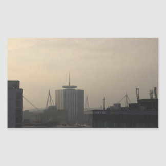 Cardiff City Skyline Sticker