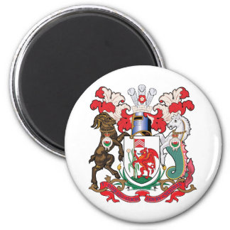 Cardiff Coat of Arms Magnet