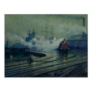 Cardiff Docks, 1896 Postcard
