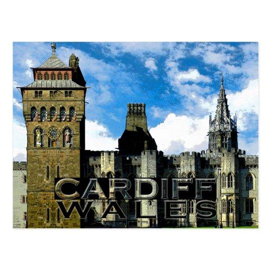 Cardiff Postcard