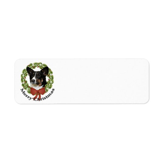 Cardigan Corgi Return Address Label
