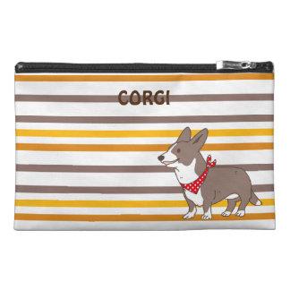 cardigan welsh corgi border travel accessory bag