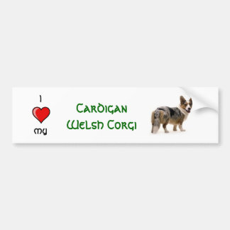 Cardigan Welsh Corgi Bumper Sticker