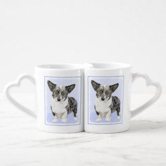 Cardigan Welsh Corgi Coffee Mug Set