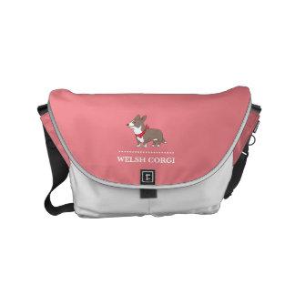 cardigan welsh corgi courier bag