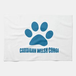CARDIGAN WELSH CORGI DOG DESIGNS KITCHEN TOWEL