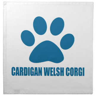 CARDIGAN WELSH CORGI DOG DESIGNS NAPKIN