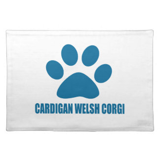 CARDIGAN WELSH CORGI DOG DESIGNS PLACEMAT