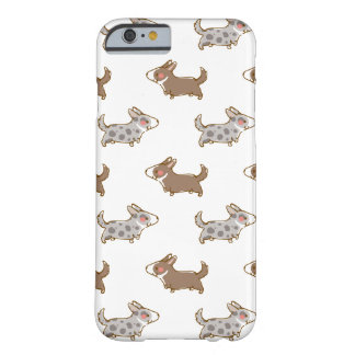 cardigan welsh corgi hand drawing handle barely there iPhone 6 case